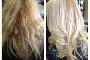 kapsalon-eindhoven-Olaplex-behandeling-blond-voor-en-na-600x403