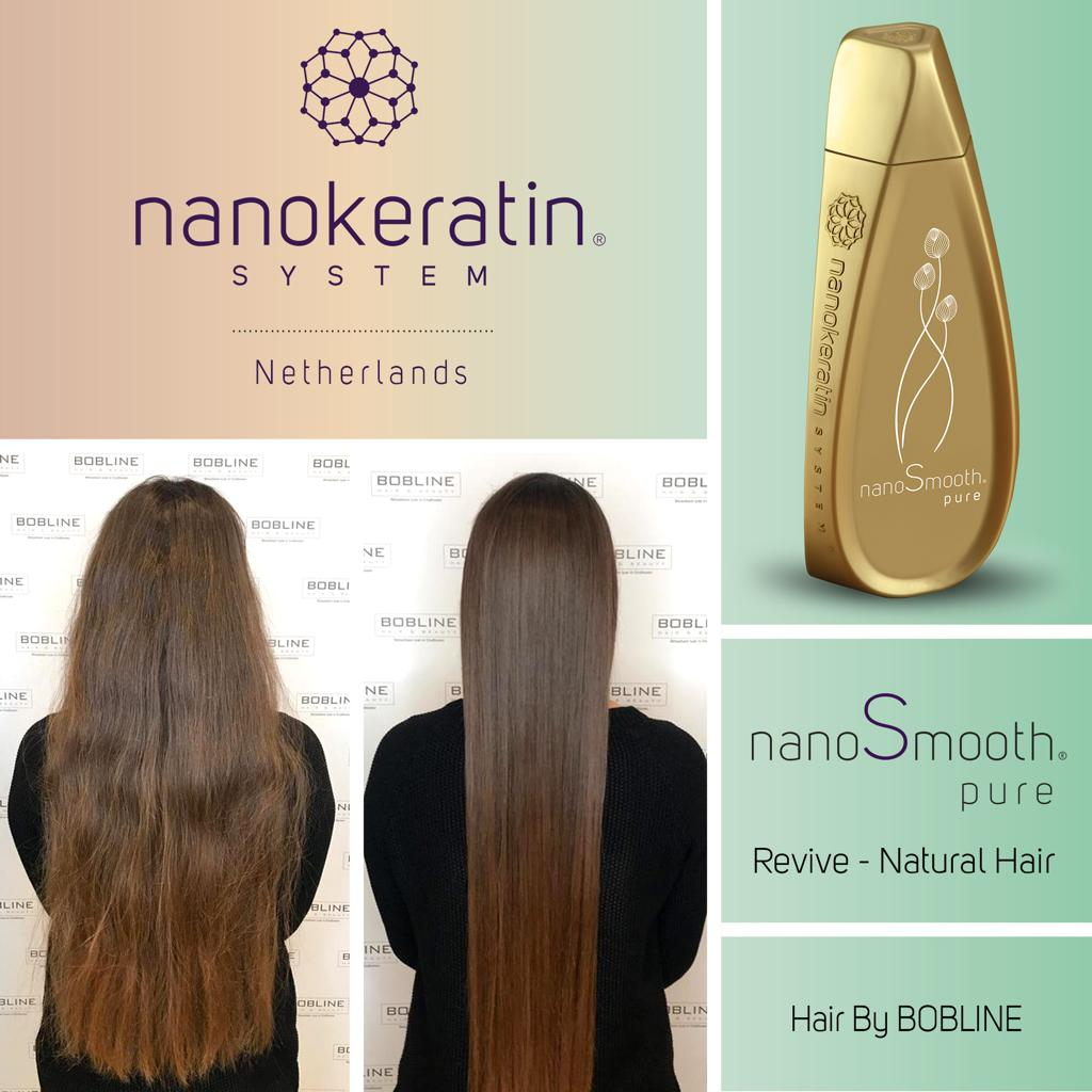 Bobline Hair & beauty official Nanokeratin hairsalon
