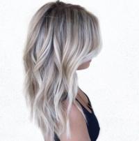 Balayage behandeling blond/bruin