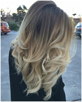 Balayage donkerblond Bobline Hair & Beauty